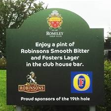 Golf Club Signs